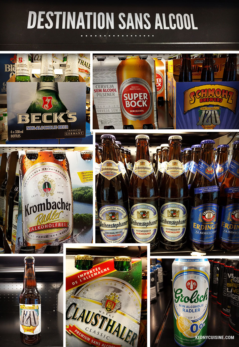 Top 5 des bières sans alcool - Kedny Cusine 6
